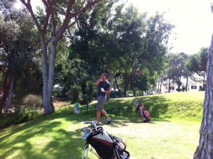 Aaron golf Portugal