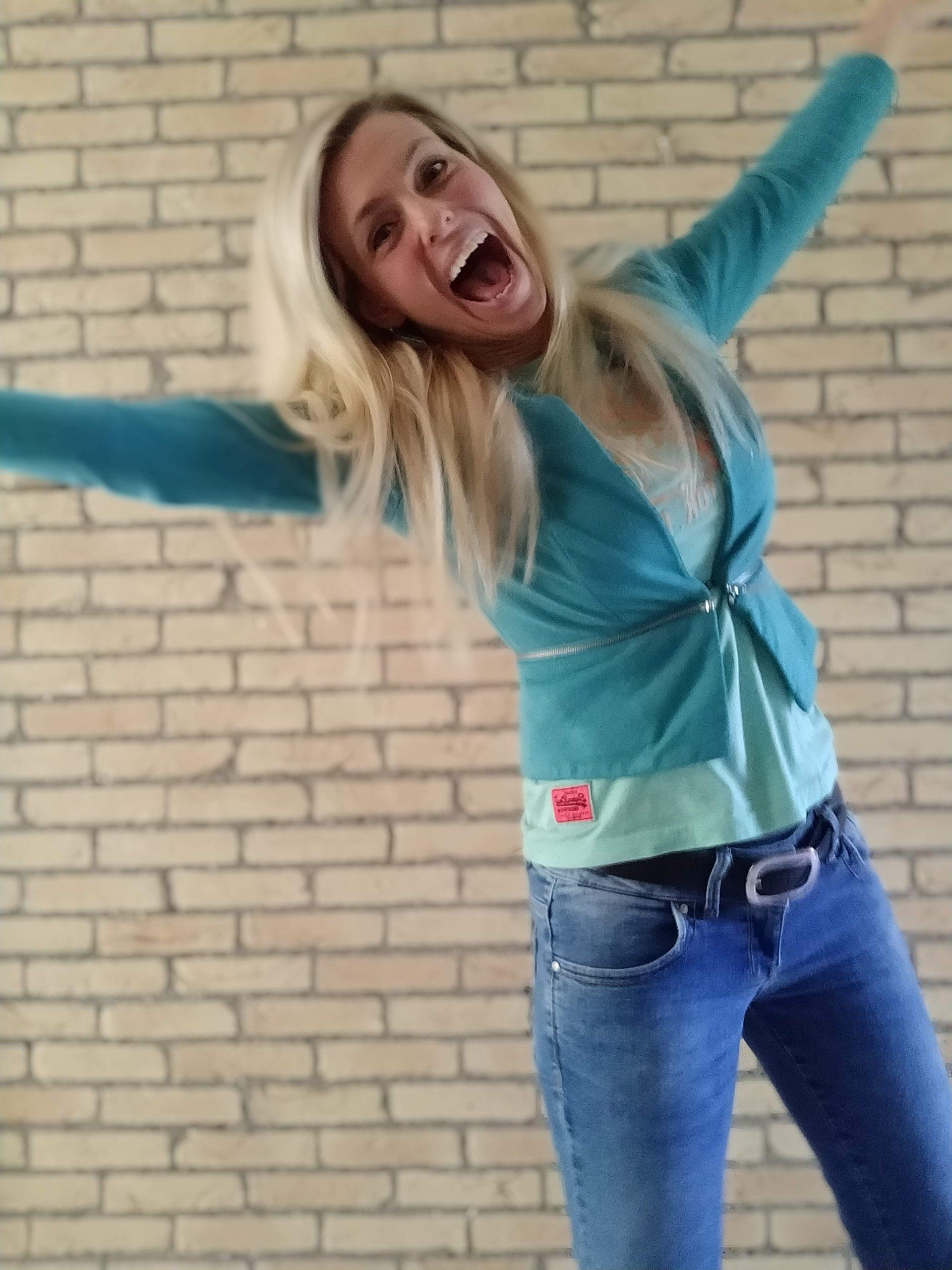 Wendy springt stress uit lichaam